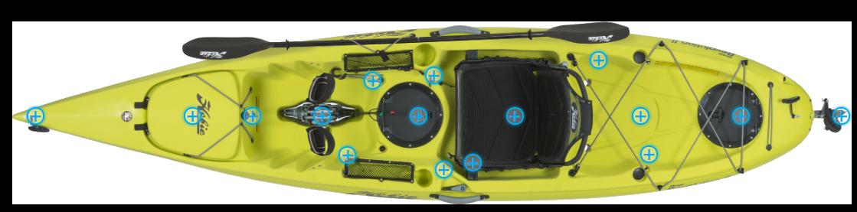 Mirage 11 Hobie équipements